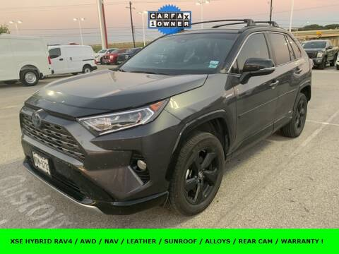 2019 Toyota RAV4 Hybrid for sale at Nissan of Boerne in Boerne TX