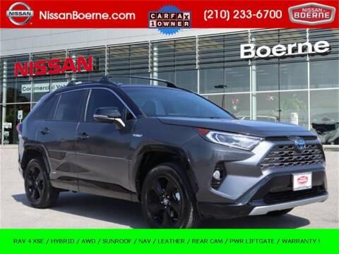 2019 Toyota RAV4 Hybrid for sale at Nissan of Boerne in Boerne TX