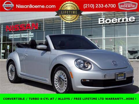 2014 Volkswagen Beetle Convertible for sale at Nissan of Boerne in Boerne TX