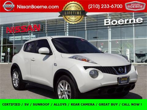 2014 Nissan JUKE for sale at Nissan of Boerne in Boerne TX