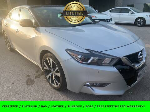 2016 Nissan Maxima for sale at Nissan of Boerne in Boerne TX