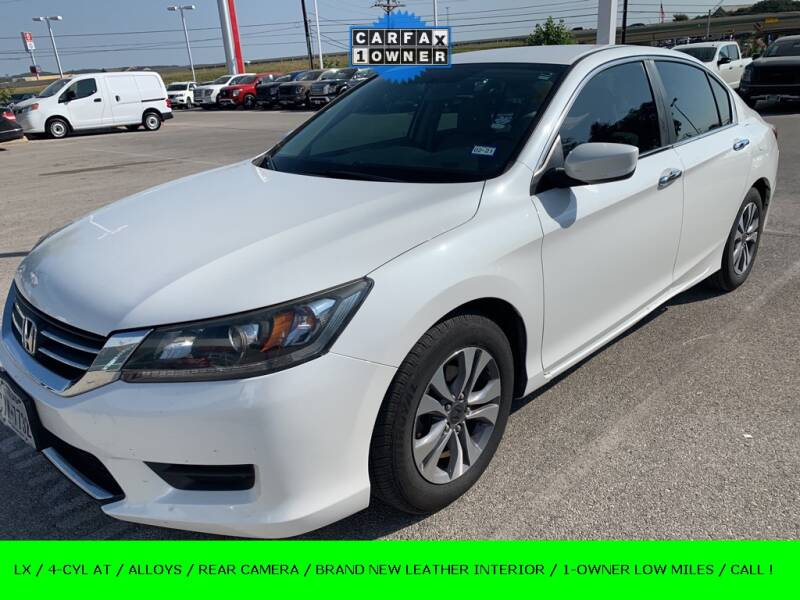 2014 Honda Accord for sale at Nissan of Boerne in Boerne TX