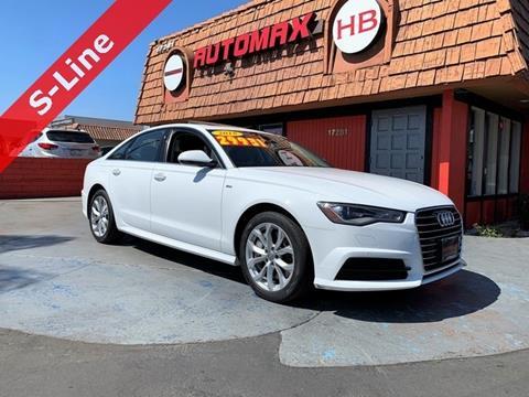 Audi Of Huntington >> 2018 Audi A6 For Sale In Huntington Beach Ca