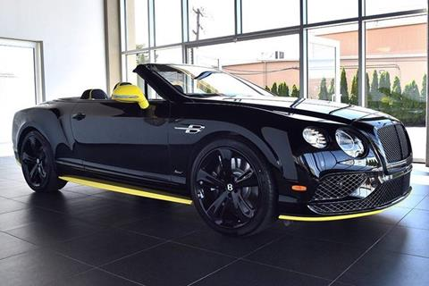2017 Bentley Continental GTC Speed for sale in North Providence, RI
