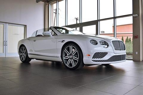 2017 Bentley Continental GTC V8 for sale in North Providence, RI