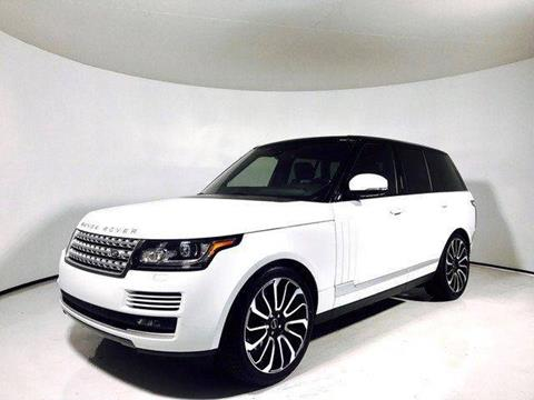 2016 Land Rover Range Rover for sale in North Providence, RI