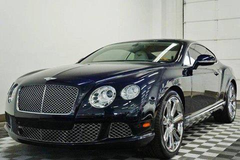 2012 Bentley Continental GT for sale in North Providence, RI