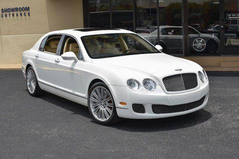 2010 Bentley Continental Flying Spur Speed for sale in North Providence, RI
