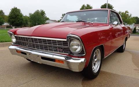 1966 Chevrolet Nova for sale in Longview, TX