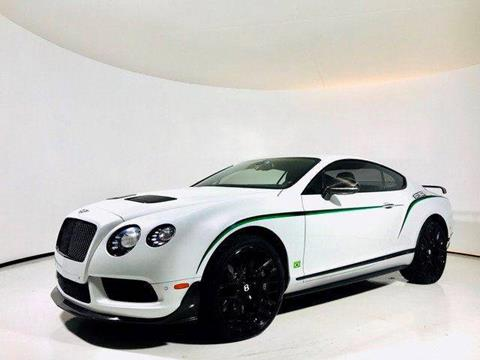 2015 Bentley Continental GT3-R for sale in Longview, TX