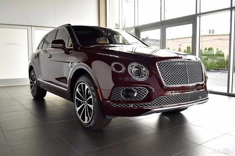 2017 Bentley Bentayga W12 First Edition for sale in North Providence, RI
