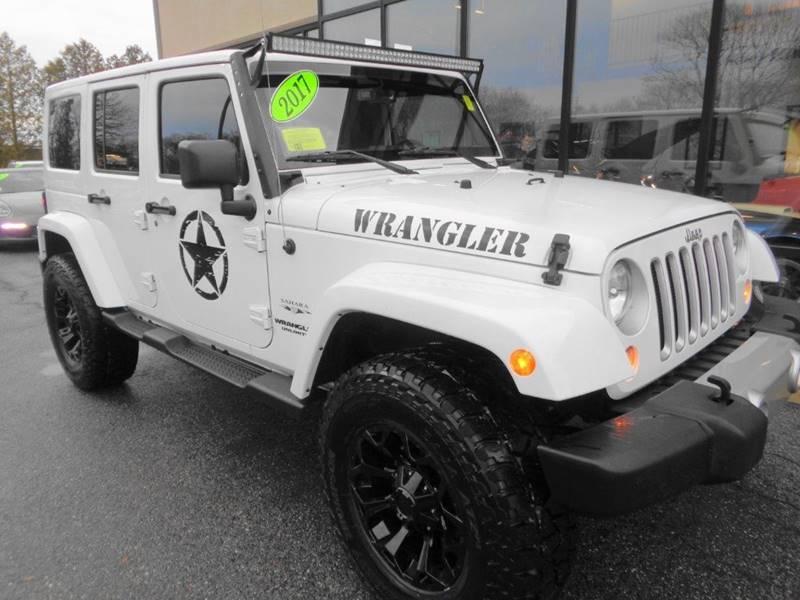 2017 Jeep Wrangler Unlimited Sahara In North Providence RI - WORLD ...
