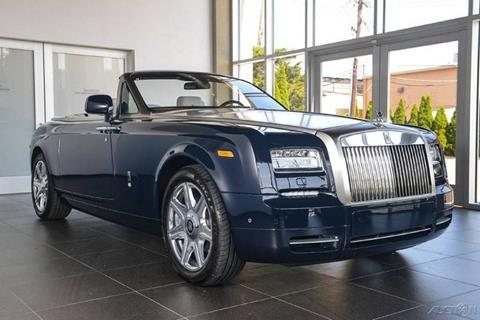 2015 Rolls-Royce Phantom Drophead Coupe for sale in North Providence, RI