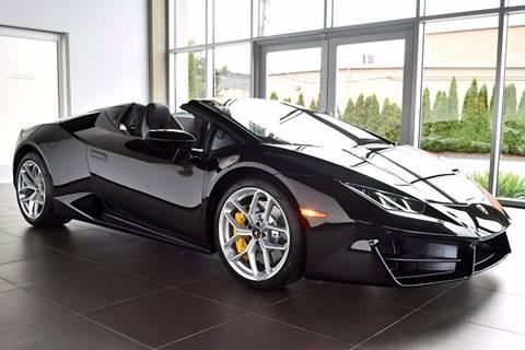 2018 Lamborghini Huracan for sale in North Providence, RI