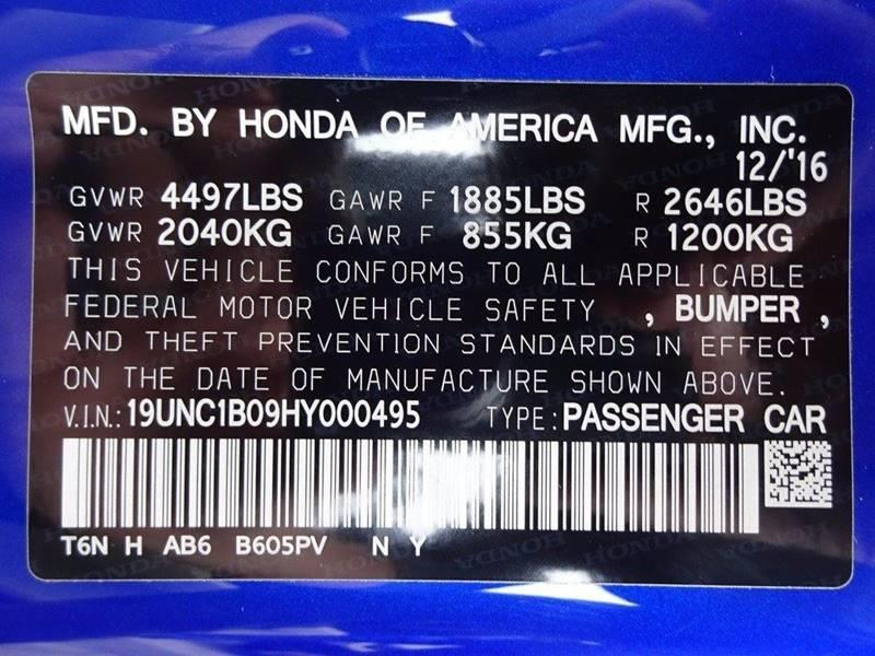 2017 Acura NSX SH-AWD Sport Hybrid In North Providence RI - WORLD ...