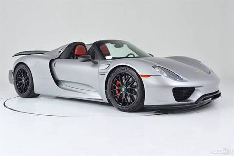 Porsche 918 Spyder For Sale in Lexington, NC - Carsforsale.com