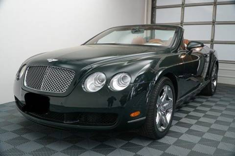 2009 Bentley Continental For Sale In South Carolina Carsforsale