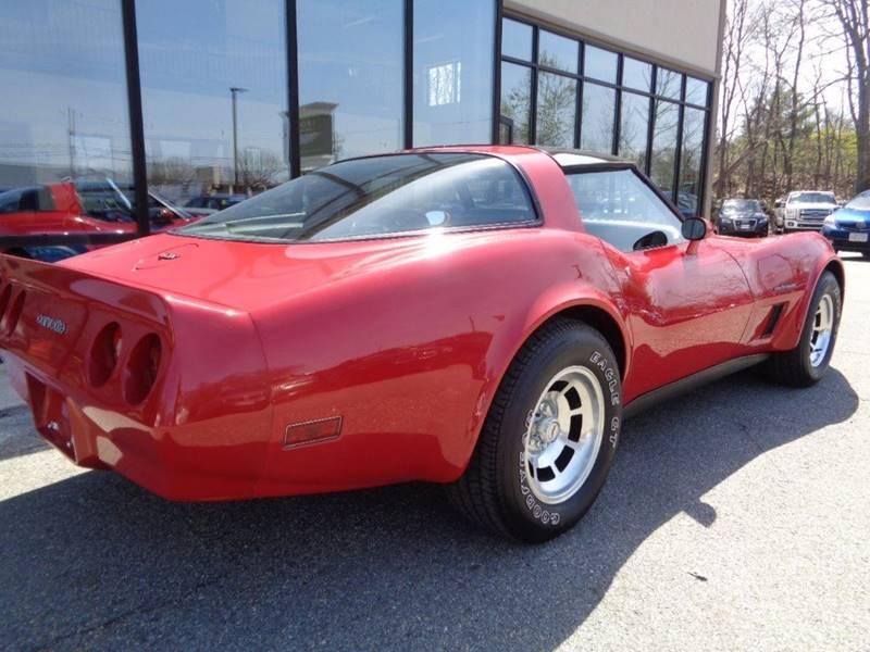 1982 Chevrolet Corvette In North Providence RI - WORLD WIDE AUTO SALES