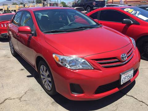 2013 Toyota Corolla for sale at JESSE'S AUTO MART in Pacoima CA