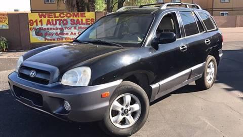 2006 Hyundai Santa Fe for sale in Glendale, AZ