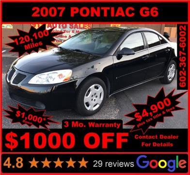2007 Pontiac G6 for sale in Glendale, AZ