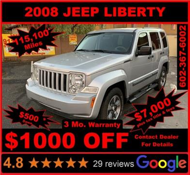 2008 Jeep Liberty for sale in Glendale, AZ