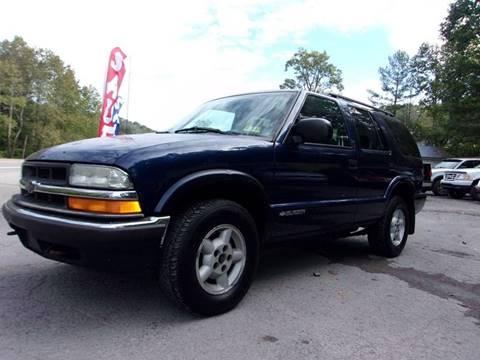 2001 Chevrolet Blazer for sale in Grafton, WV