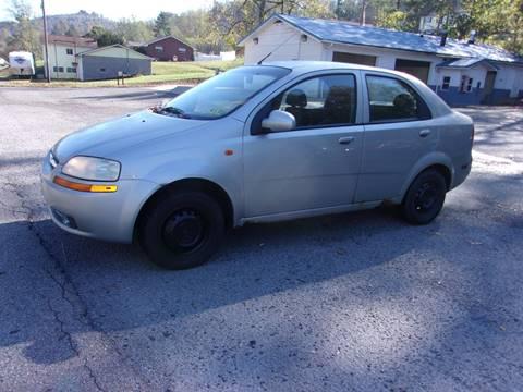 2004 Chevrolet Aveo for sale in Grafton, WV