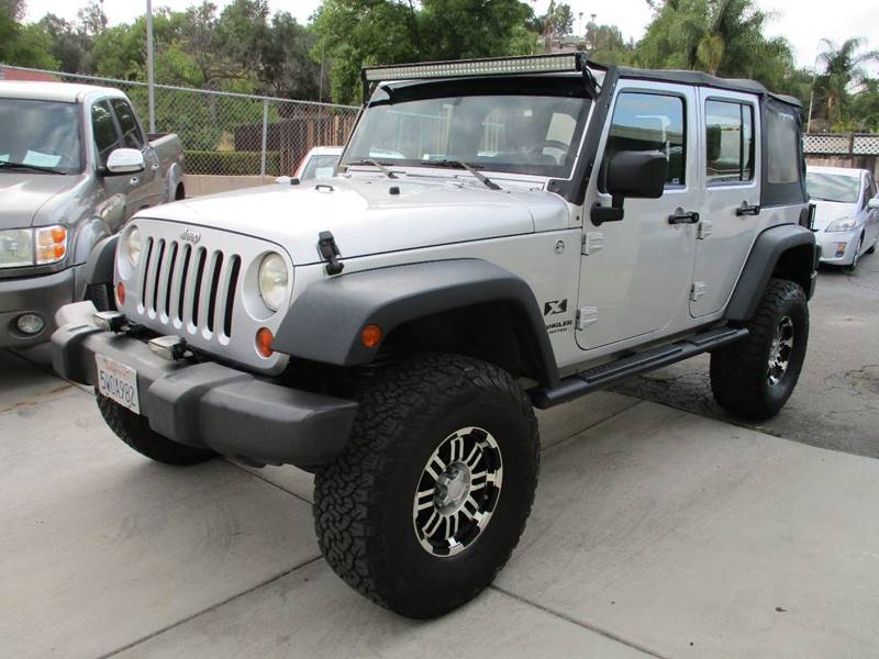 2008 Jeep Wrangler Unlimited For Sale At Campo Auto Center In Spring Valley  CA