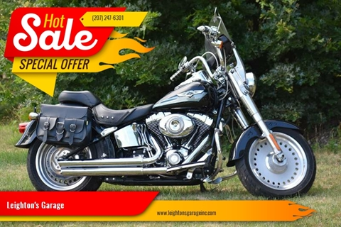 2008 Harley-Davidson Fat Boy for sale in Waterboro, ME