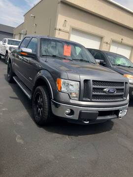 2012 Ford F-150 for sale at Auto Image Auto Sales Chubbuck in Chubbuck ID