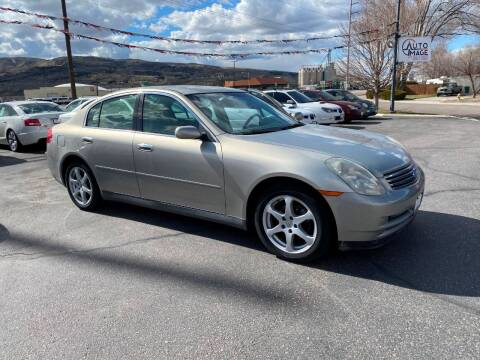 2003 Infiniti G35 for sale at Auto Image Auto Sales in Pocatello ID