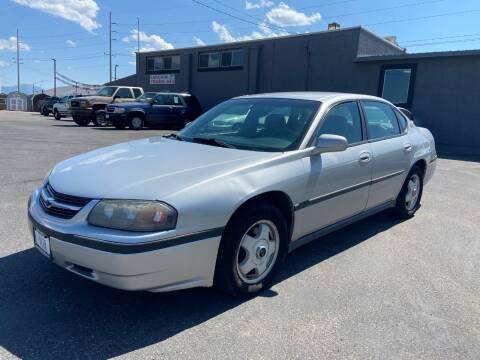2001 Chevrolet Impala for sale at Auto Image Auto Sales in Pocatello ID
