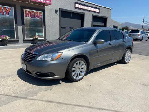 2012 Chrysler 200 for sale at Auto Image Auto Sales in Pocatello ID