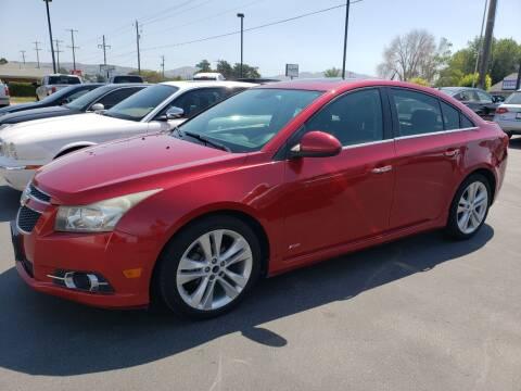 2013 Chevrolet Cruze for sale at Auto Image Auto Sales in Pocatello ID