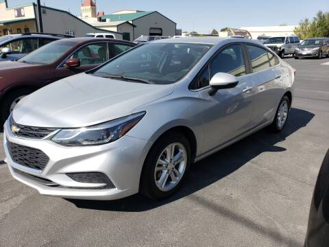 2018 Chevrolet Cruze for sale at Auto Image Auto Sales Chubbuck in Chubbuck ID