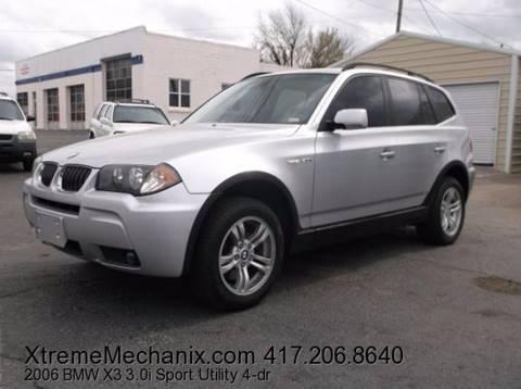 2006 BMW X3 for sale in Joplin MO