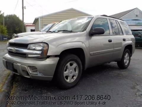 2002 Chevrolet TrailBlazer for sale in Joplin MO