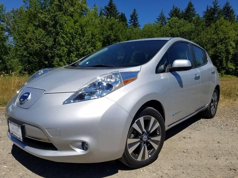 2014 Nissan Leaf Sl In Battle Ground Wa Russell Land Auto Sales Llc