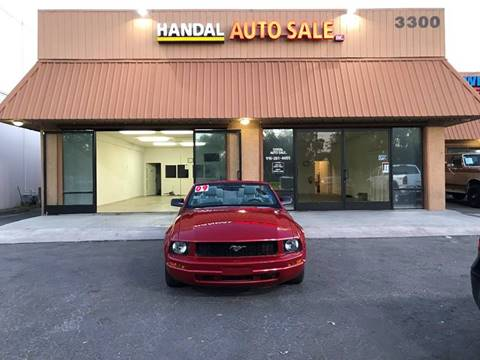 2009 Ford Mustang for sale in Sacramento CA