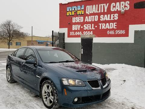 2009 Pontiac G8 for sale in Detroit, MI