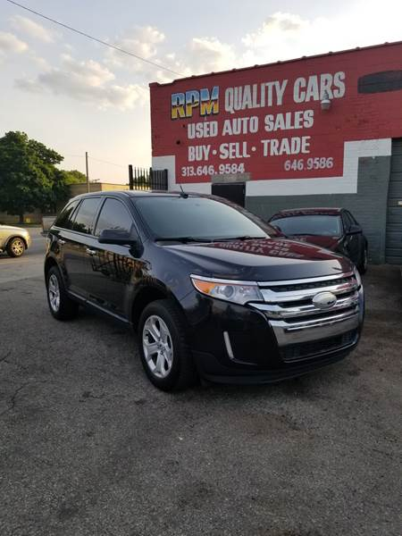 Ford Edge For Sale At Rpm Quality Cars In Detroit Mi