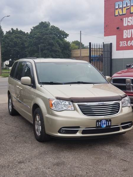 2011 chrysler town and country touring in detroit mi rpm quality cars. Black Bedroom Furniture Sets. Home Design Ideas