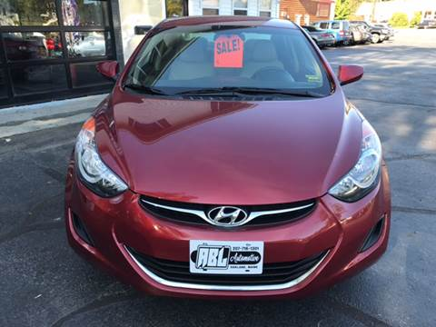 2013 Hyundai Elantra for sale in Oakland, ME
