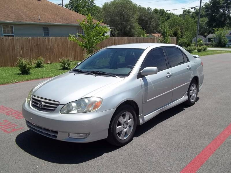 2003 Toyota Corolla For Sale At Shuler Auto Sales And Service In  Springfield MO