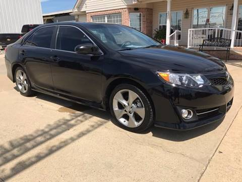 2012 Toyota Camry for sale at Earl Baker Motor Co. in Searcy AR