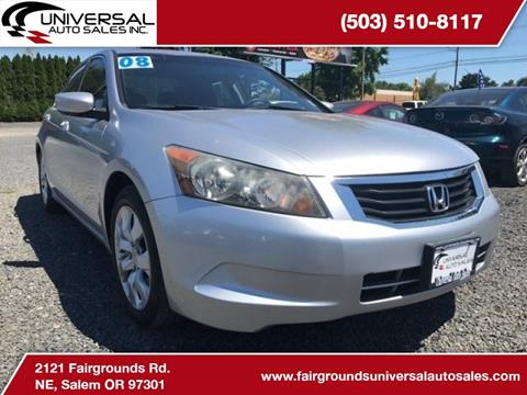 2008 Honda Accord for sale in Salem, OR