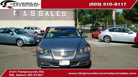 2006 Acura RL for sale in Salem, OR