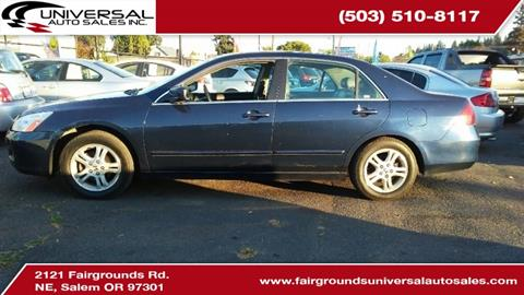 2006 Honda Accord for sale in Salem, OR