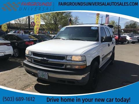 2000 Chevrolet Tahoe for sale in Salem, OR